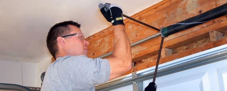 how much to repair garage door spring